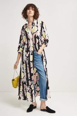 French Connection Enoshima Drape Maxi Dress