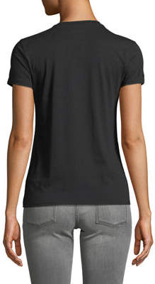 Juicy Couture Crystal Cotton Logo Tee