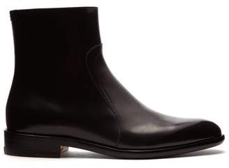 Maison Margiela - Icons Leather Chelsea Boots - Mens - Black