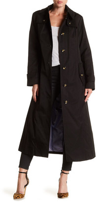 London Fog Hooded Trench Coat $180 thestylecure.com