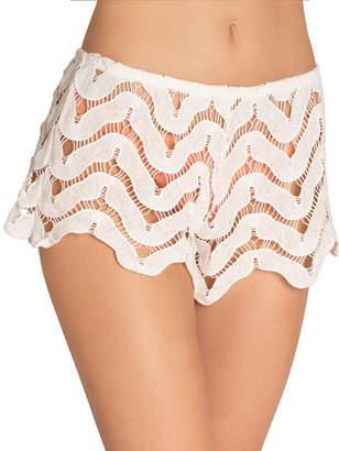Eberjey Sam Lace Coverup Shorts