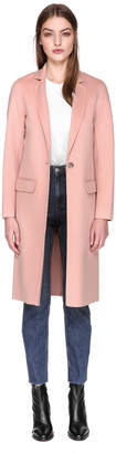 Mackage HENS Straight long wool jacket with tailored collar