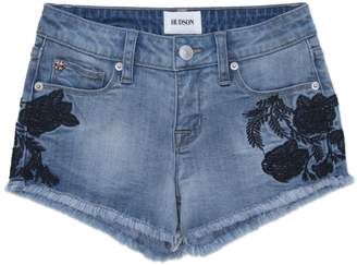 Hudson Jeans Iris Embroidered Short