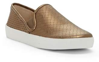 Vince Camuto Cariana Leather Slip-On Sneaker