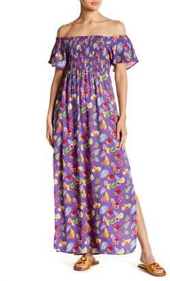 Romeo & Juliet Couture Floral Off Shoulder Dress