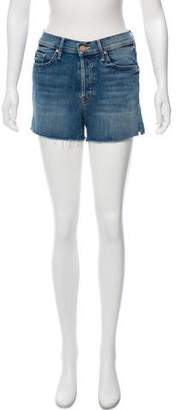 Mother Saint Mid-Rise Shorts w/ Tags