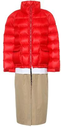 Undercover Hybrid down coat