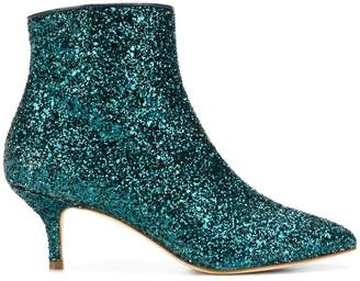 Polly Plume Wannabe glitter boots
