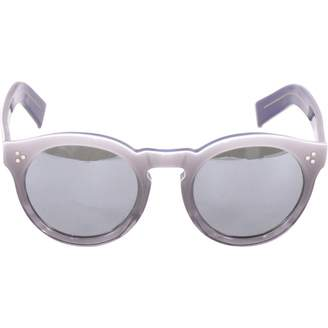Illesteva Grey Plastic Sunglasses