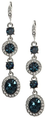 Women's Givenchy Crystal Linear Drop Earrings $68 thestylecure.com