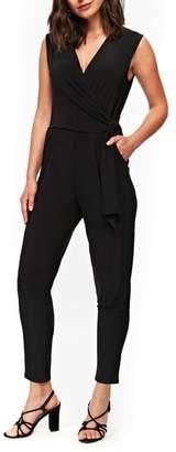 Wallis Wrap Style Side Tie Jumpsuit