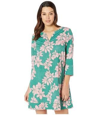 Reyn Spooner Hibiscus Lanai A-Line Dress