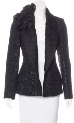 Christian Dior Metallic Tweed Blazer