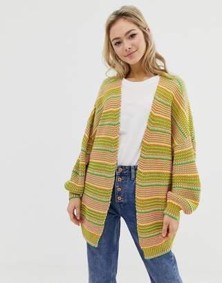 Asos Design DESIGN cardigan in twist yarn