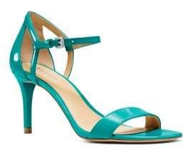 MICHAEL Michael Kors Simone Stiletto Heel Patent Leather Sandals