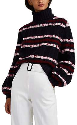 A.L.C. Women's Zaira Chunky-Knit Wool-Blend Turtleneck Sweater