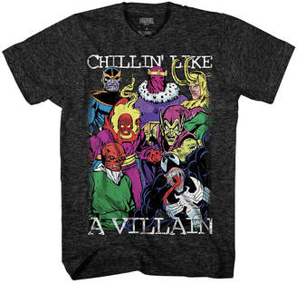 Novelty T-Shirts Marvel Villow Graphic Tee