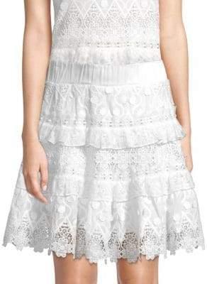 Alexis Jacqueline Lace Mini Skirt