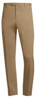 Boglioli Men's Hopsack Trousers - Beige - Size 58 (42)