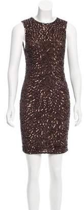 Alice + Olivia Sequin Mini Dress