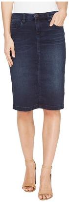 Blank NYC - Denim Pencil Skirt in Swing Away Women's Skirt $88 thestylecure.com