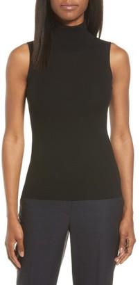 Women's Classiques Entier Sleeveless Turtleneck $149 thestylecure.com