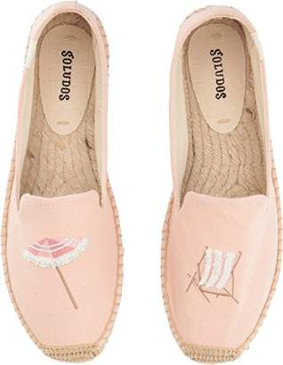 Soludos Women's Beach Day Smoking Slipper Platform