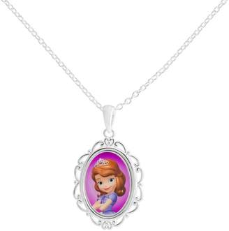 Disney's Sofia the First Silver-Plated Pendant Necklace $60 thestylecure.com