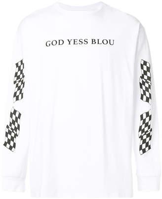 Paura God Yess Blou top
