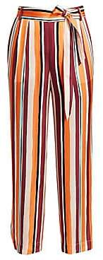 Frame Women's Cropped Clean Stripe Pants