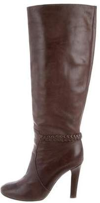 Chloé Round-Toe Knee-High Boots