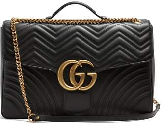 Gucci GG Marmont maxi quilted-leather shoulder bag
