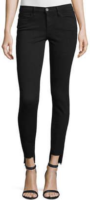 FRAME Le Skinny de Jeanne Raw Stagger-Hem Jeans $205 thestylecure.com