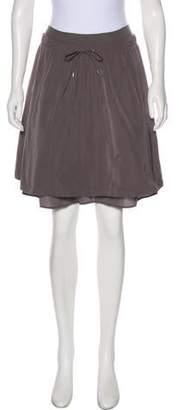 Rivamonti Silk Knee-Length Skirt