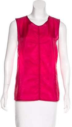 Ann Demeulemeester Semi-Sheer Sleeveless Top