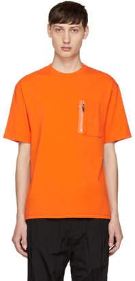Christian Dada Orange Signature Flight T-Shirt