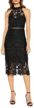 Bardot Isa Lace Sheath Dress