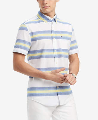 Tommy Hilfiger Men's Keen Striped Shirt