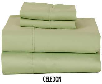 Castle Hill London 310 Tc Solid Sateen Queen Sheet Set Bedding