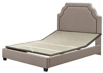 Key Stone Crosley Furniture Loren Keystone Upholstered Queen Bedset