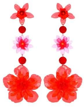 Isabel Marant Flower drop earrings
