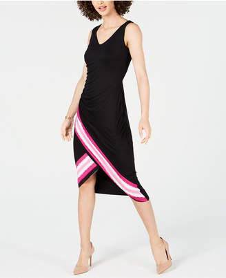ab805e5fdf INC International Concepts I.n.c. Tie-Dyed Tulip-Hem Midi Dress