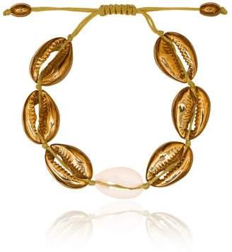 Puka Tohum large natural shell bracelet