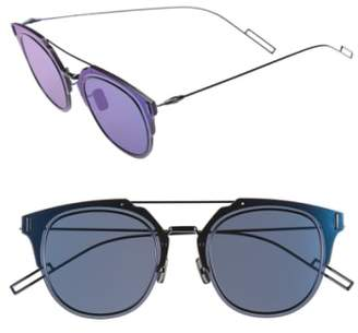 Christian Dior 'Composit 1.0S' 62mm Metal Shield Sunglasses