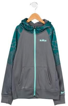 Nike Boys' Hooded Zip-Up Sweatshirt