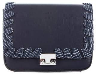 Loeffler Randall Lock Leather Convertible Clutch