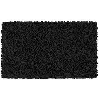 Vdomus Soft Microfiber Shag Bath Rug Extra Absorbent and Comfortable Anti-Slip Machine-Washable Large Bathroom Mat (20x32 Inch