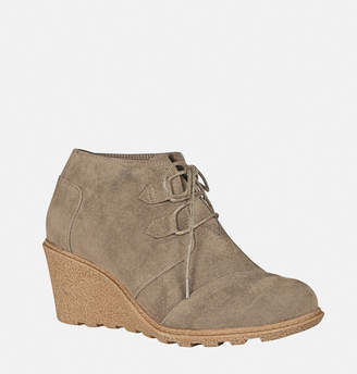 Avenue Soho Lace-Up Wedge Bootie