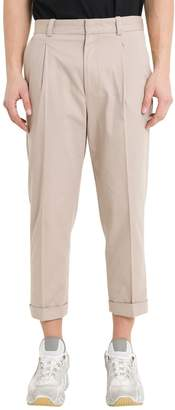 46ba1039ceb0 Acne Studios Loose-fitting Cuffed Trousers With Pinces