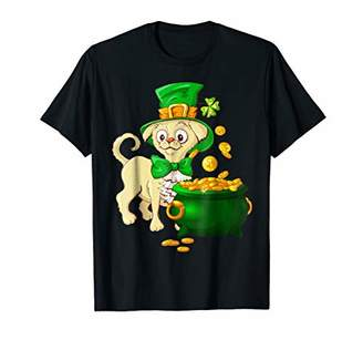 Funny Patricks Day Cute Dog Irish T-Shirt